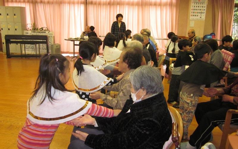 秋津デイサービスセンター訪問