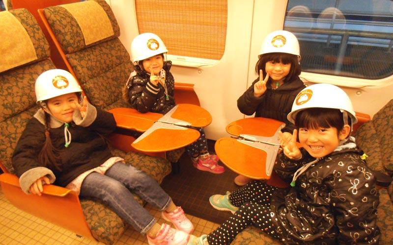 新幹線車両基地見学